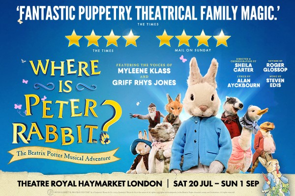 Where is Peter Rabbit? Is Back! Plus, A Review from Our