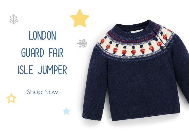 Kids' London Guard Fair Isle Jumper
