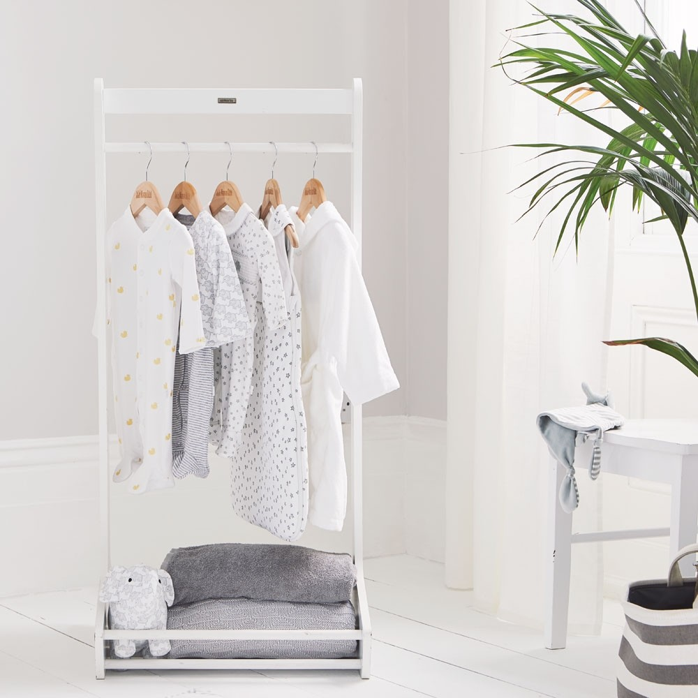 White Clothes Rail