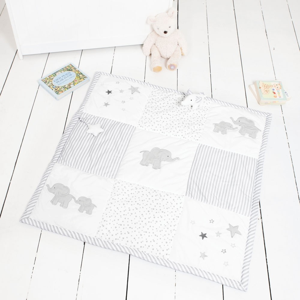 Elephant Patchwork Activity Playmat