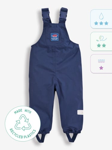 Pack-Away Waterproof Dungarees
