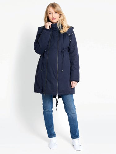 2-in-1 Padded Maternity Parka