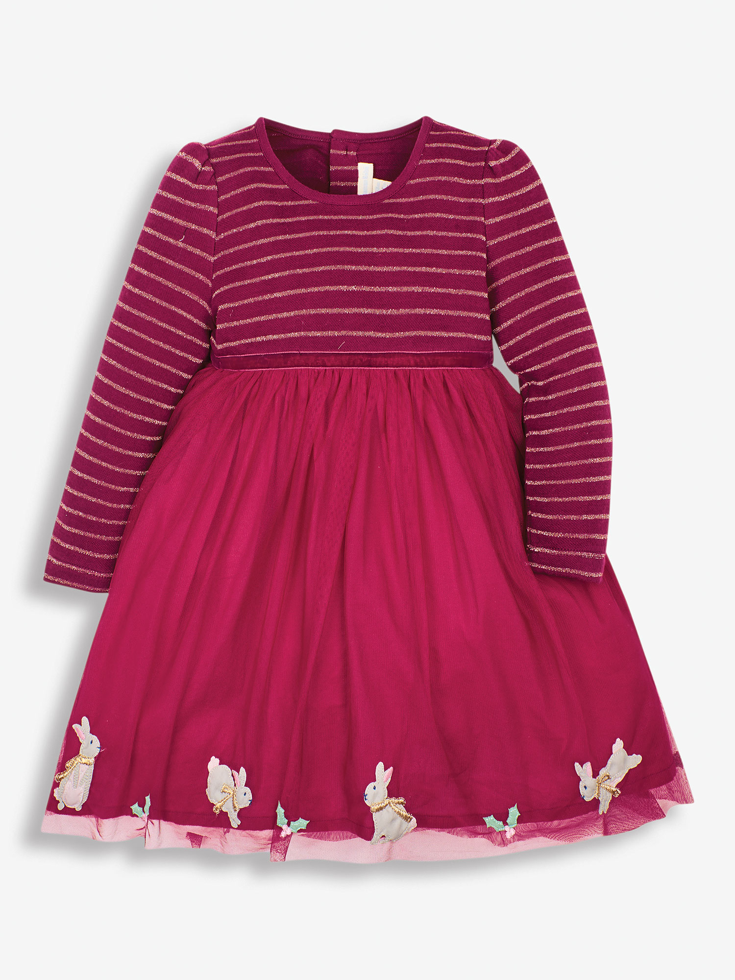 Girls' Berry Bunny Party Dress