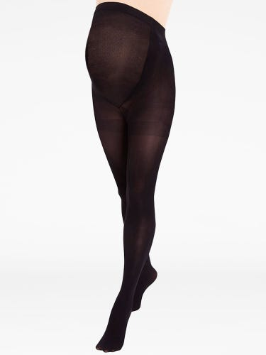 Black 60 Denier Ultimate Support Maternity Tights