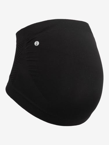 Black Active Maternity Bump Support