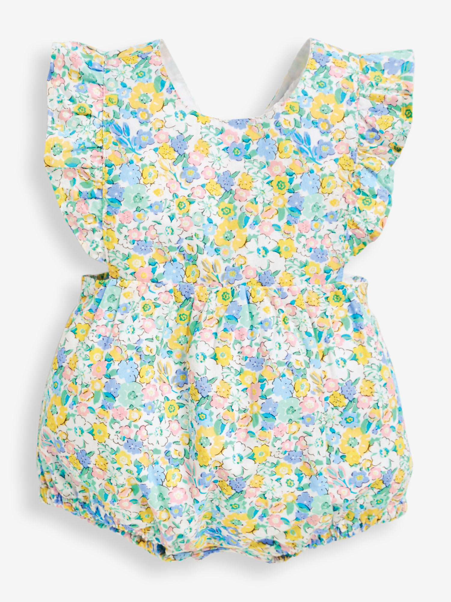 Blossom Floral Bubble Baby Romper