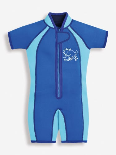Kids' Colour Block Wetsuit