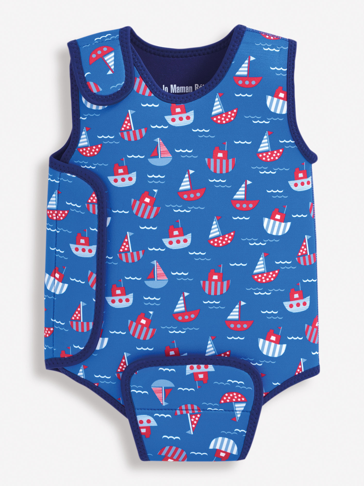 Boat Print Baby Wetsuit