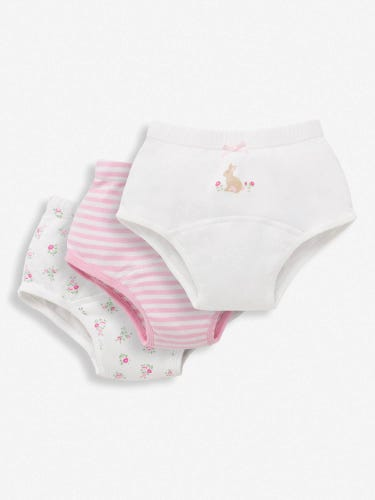 3-Pack Girls' Bunny Training Knickers