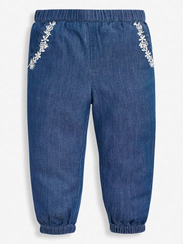 Girls' Chambray Trousers