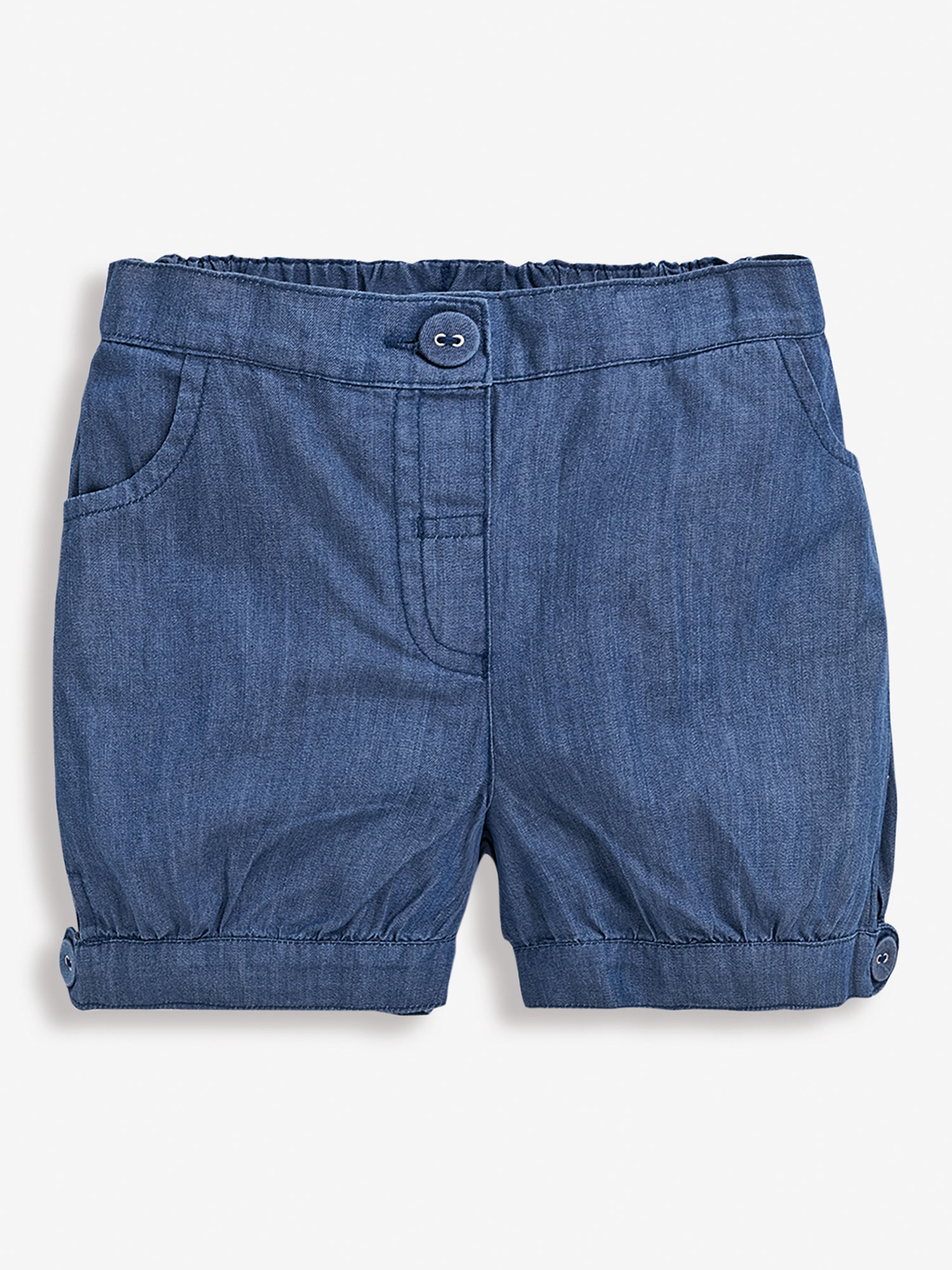 Girls' Chambray Pretty Shorts