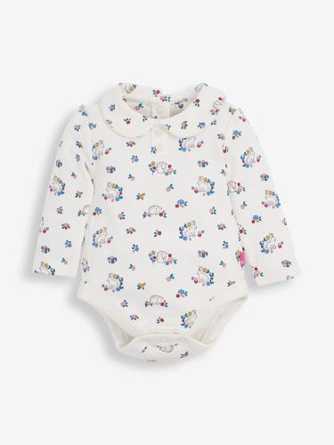 Hedgehog Peter Pan Baby Bodysuit