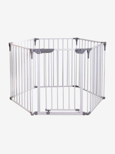 Dreambaby Royale Converta 3-in-1 Playpen, Fireplace Barrier & Gate - White