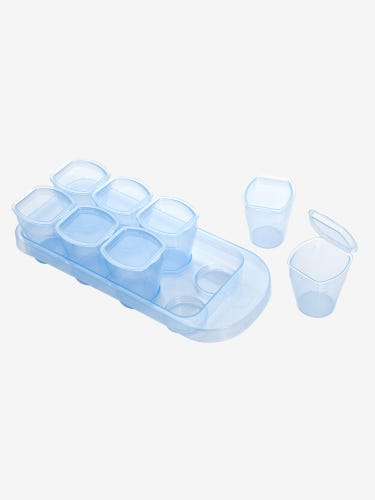 2-Pack Stage Two Weaning Pots with Trays