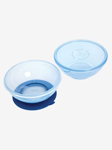 2-Pack Suction Bowls