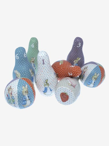 Peter Rabbit Soft Pin Bowling Set