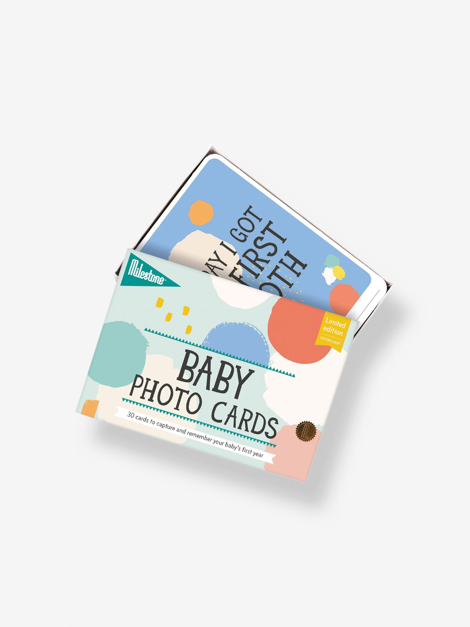Milestone Baby Photo Cards Limited Edition
