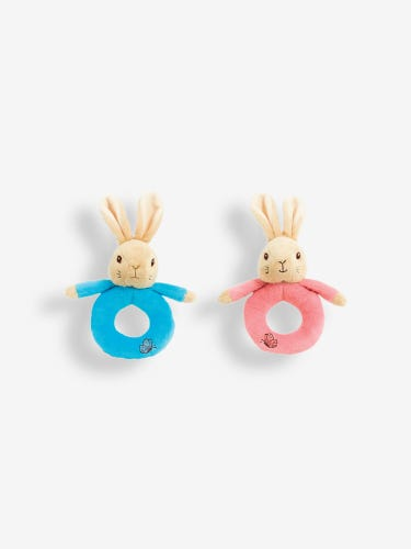 Beatrix Potter Soft Ring Rattle