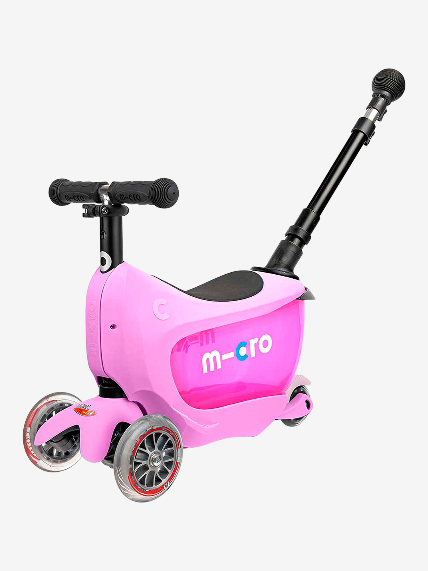 Micro Scooter Mini 2 GO Deluxe Plus Pink