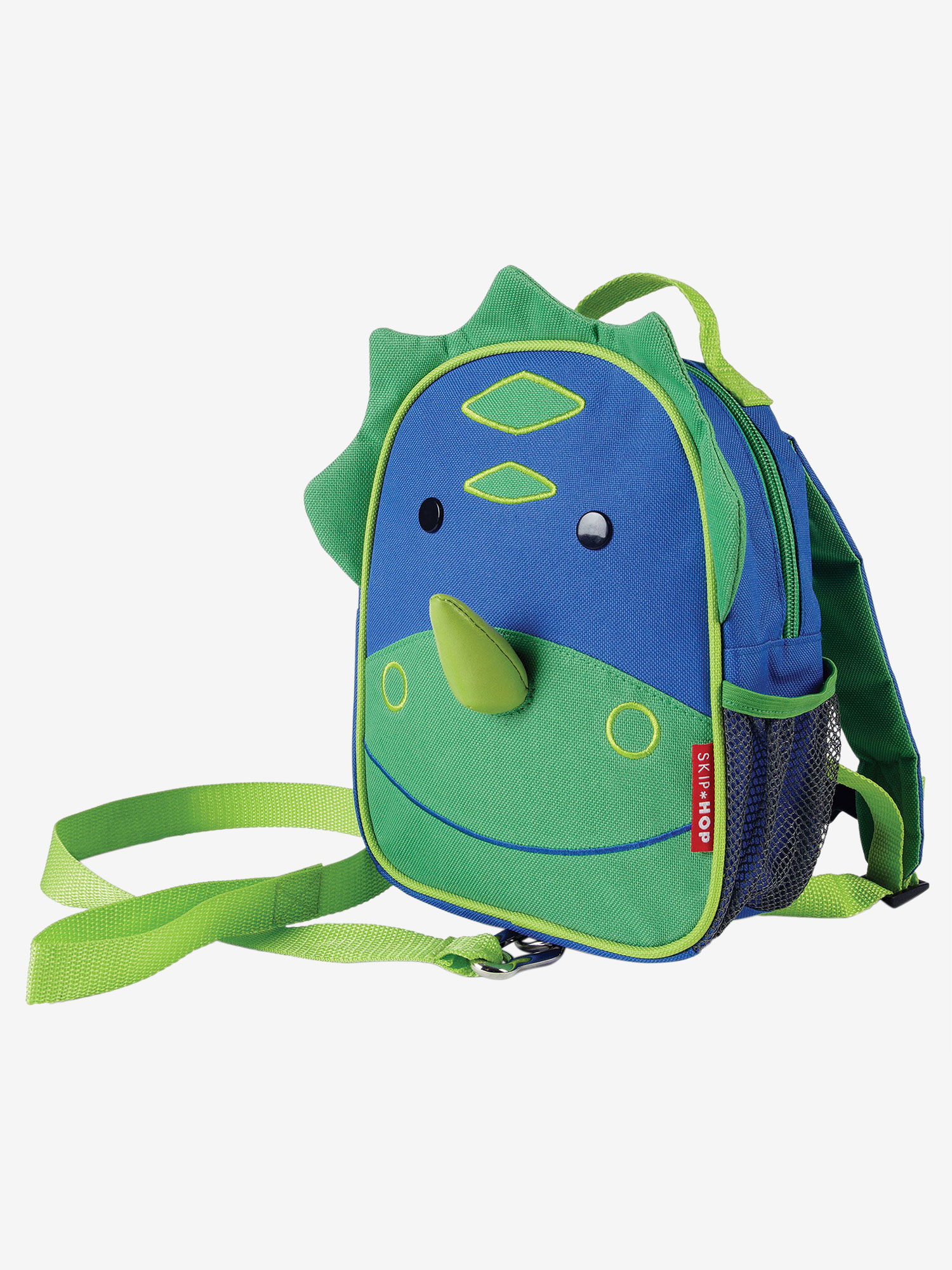 Skip Hop Zoo Mini Backpack with Rein Dinosaur