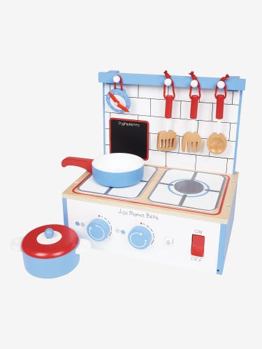 Wooden Table Top Play Kitchen