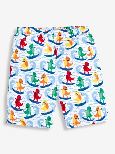 Boys' Swim Shorts with Nappy