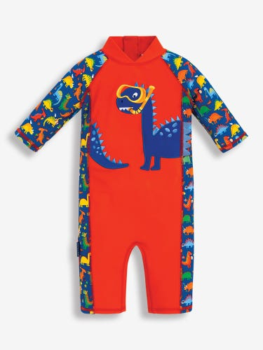 Dinosaur 1-Piece Sun Protection Suit