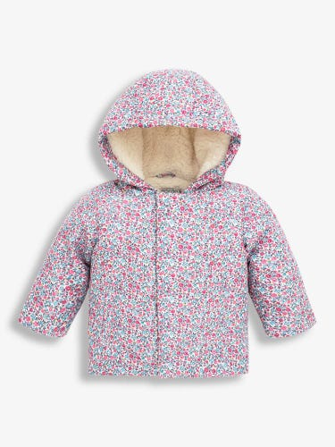 Ditsy Floral Baby Jacket