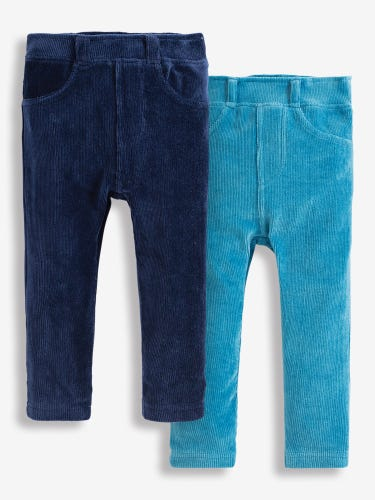 2-Pack Girls' Jersey Cord Jeggings