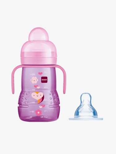 MAM 2-in-1 Trainer Cup Pink