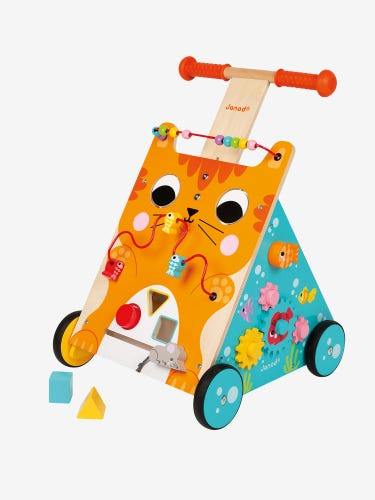 Janod Multi Activity Cat Baby Walker