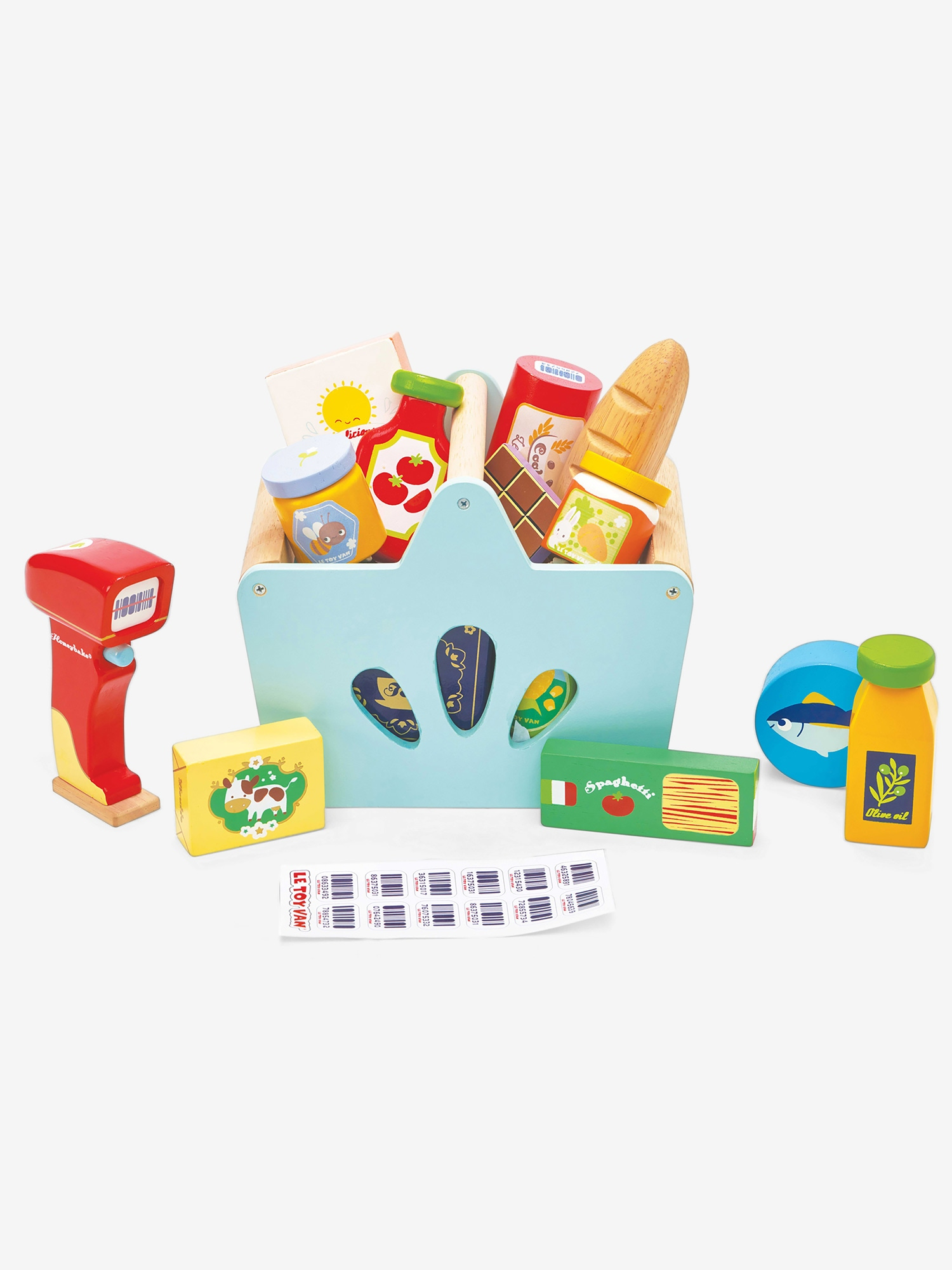 Le Toy Van Groceries & Scanner Basket