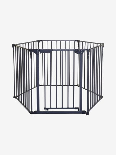 Dreambaby Royale Converta 3-in-1 Playpen, Fireplace Barrier & Gate - Charcoal