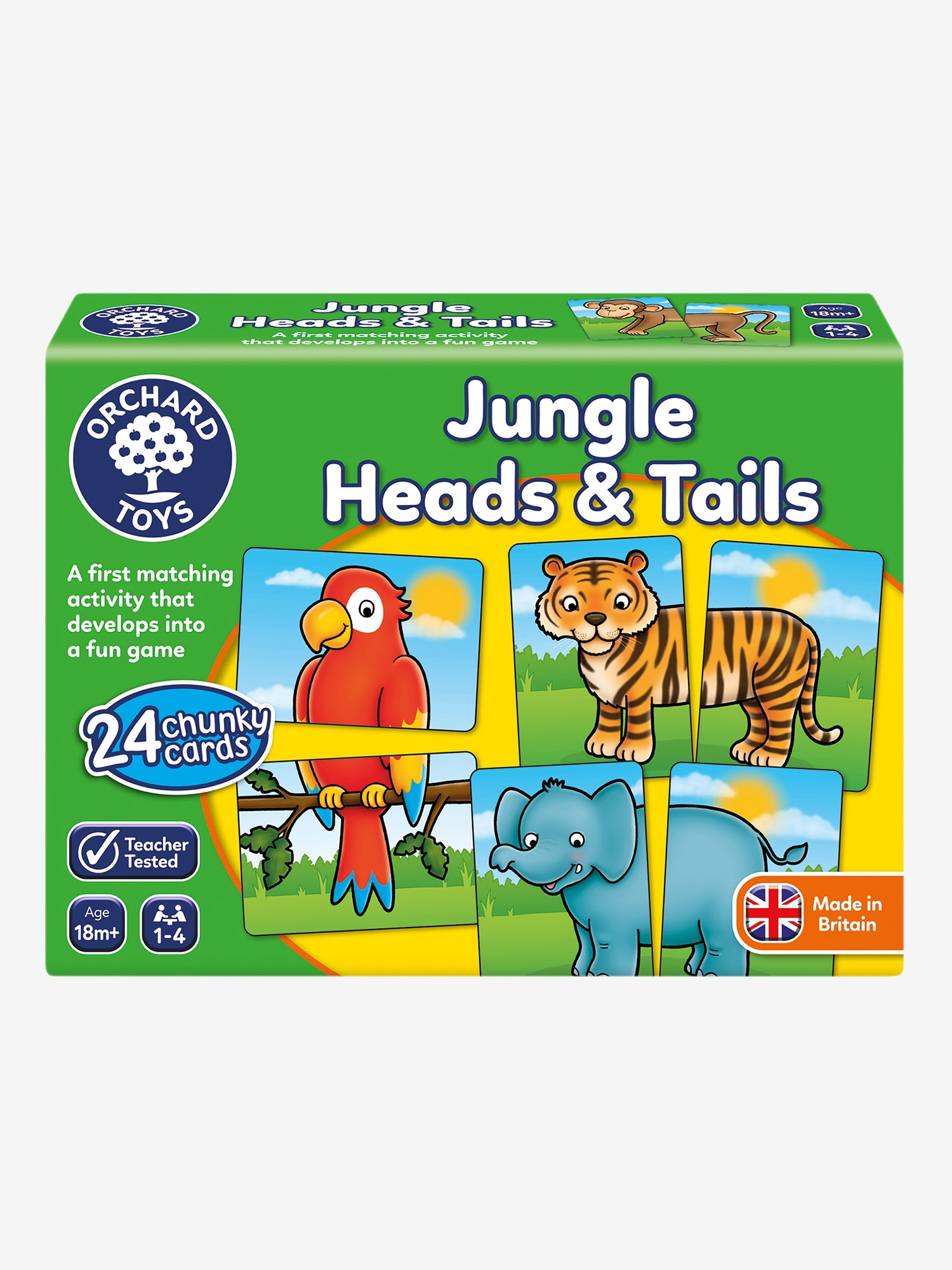 Orchard Toys Jungle Heads & Tails Game