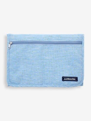 Blue Fabric Travel Changing Mat