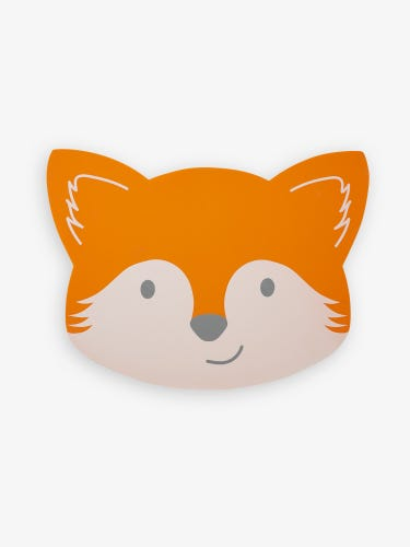 Fox Shaped Silicone Place Mat