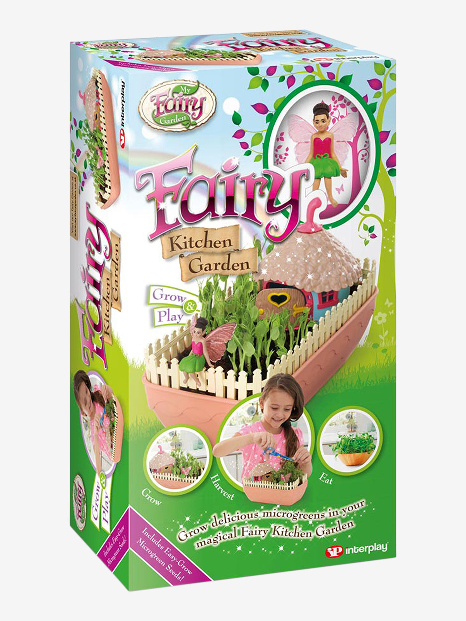 My Fairy Garden Fairy Kitchen Garden Playset