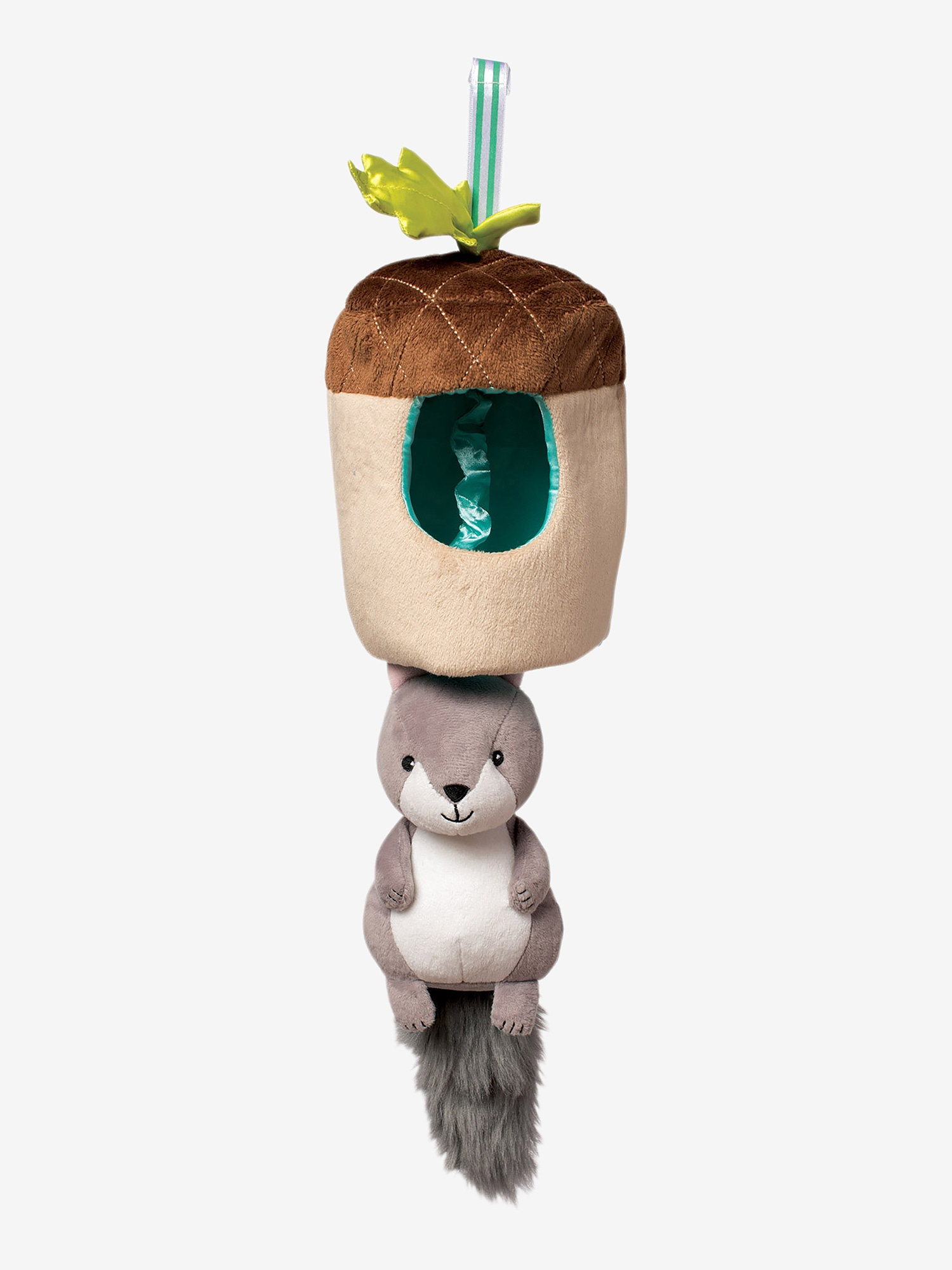 Manhattan Toy Lullaby Squirrel Pull Musical Toy
