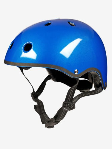 Micro Scooters Deluxe Blue Helmet Small
