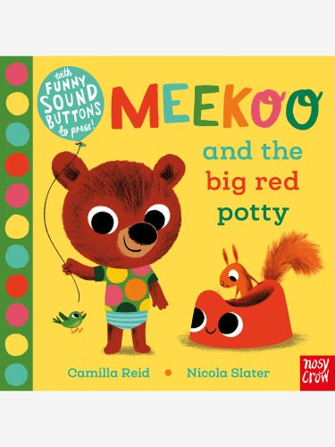 Meekoo and the Big Red Potty Book