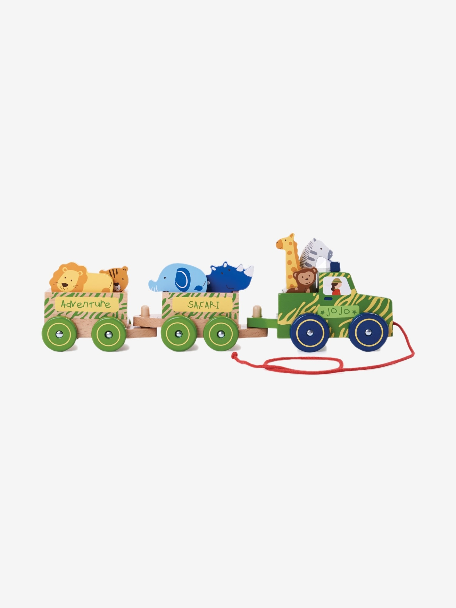 Safari Pull-Along Truck with Animals