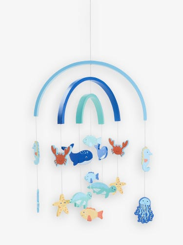 Wooden Under the Sea Mobile
