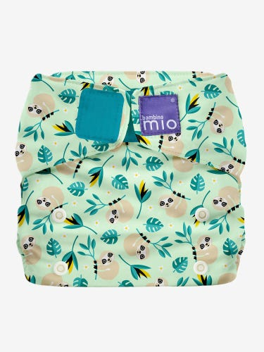 Bambino Mio MioSolo All in One Reusable Nappy - Swing Sloth