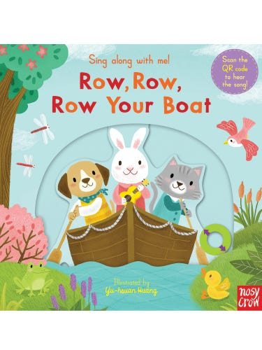 Sing Along with Me! Row Row Your Boat Book