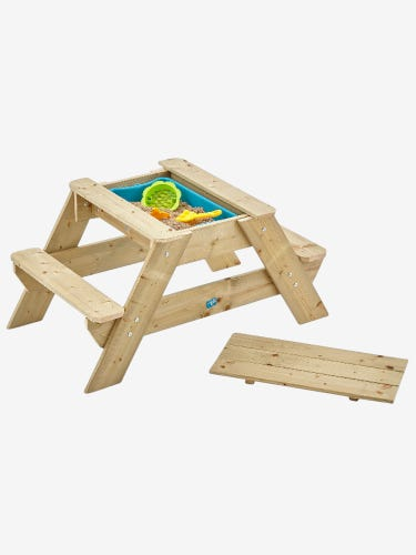 TP Toys Early Fun Wooden Picnic Table Sandpit