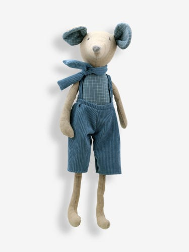 Wilberry Linen Large Mouse Boy