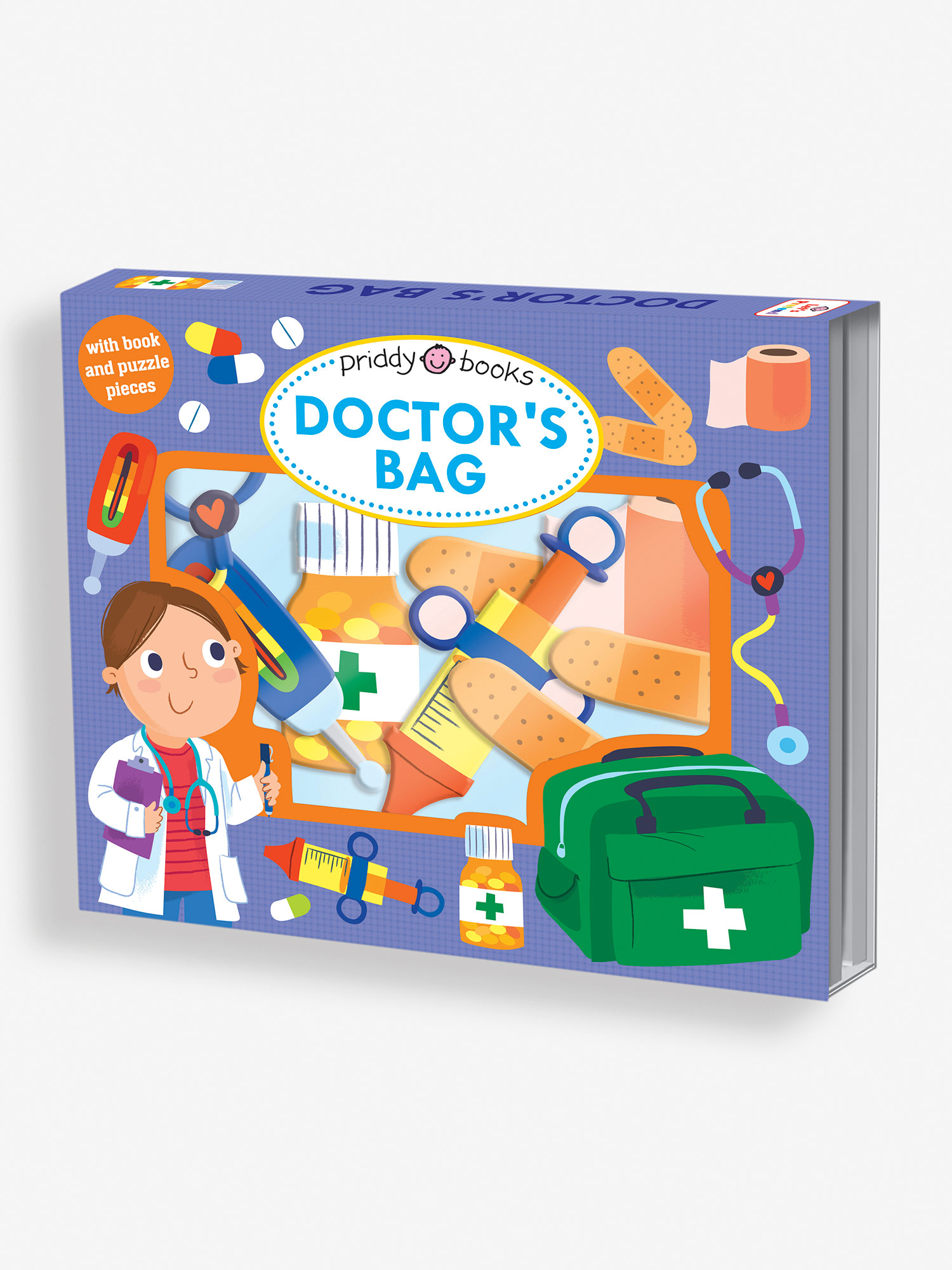 Let's Pretend Doctor's Bag Puzzle Book
