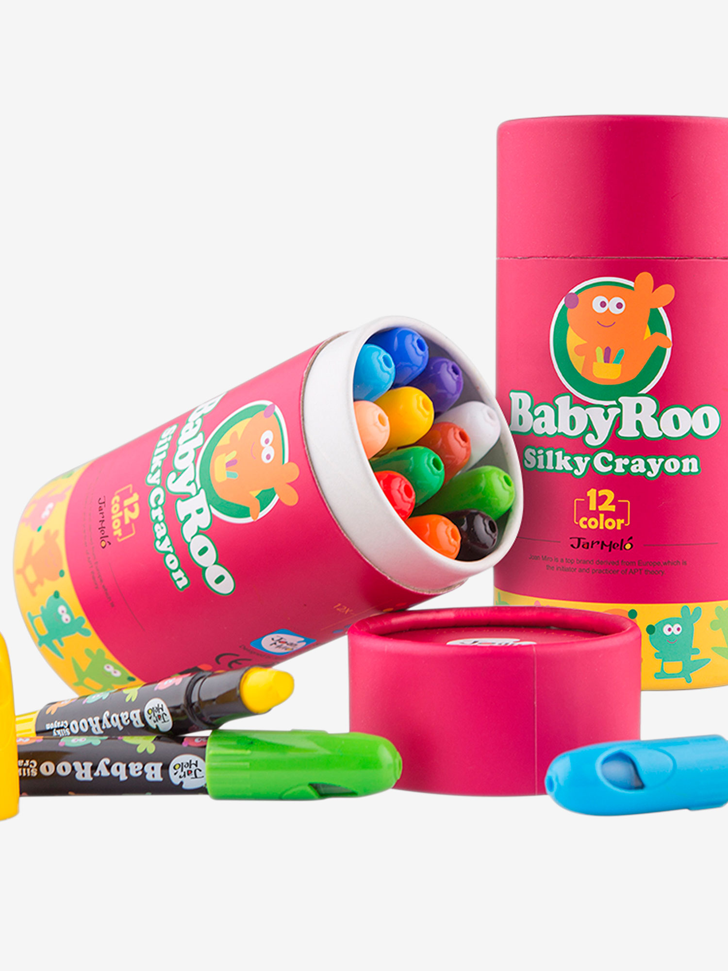Jar Melo Baby-Roo Silky Washable Crayons