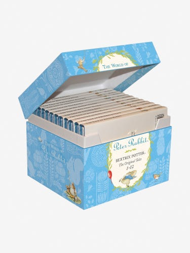 The World of Peter Rabbit Original Tales 12-Book Gift Box