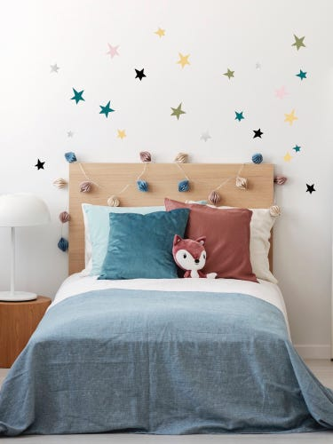 Pom Le Bon Homme Pastel  Star Wall Stickers